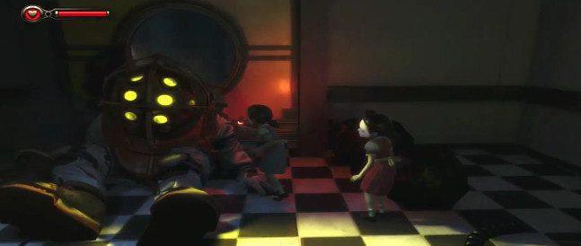 Uno de los misterios resueltos en este DLC, es el origen de los Big Daddy como protectores de las Little Sister