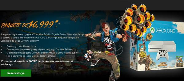 sunset overdrive consola
