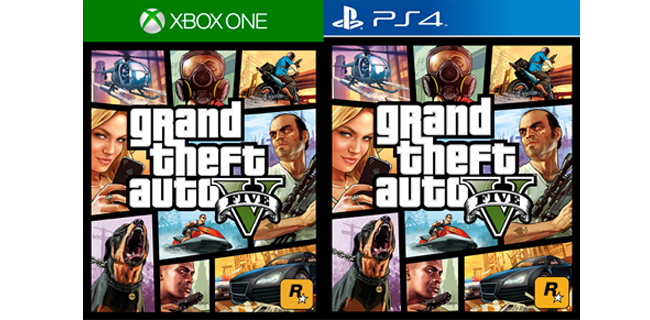 GTA V PS4 Xbox One