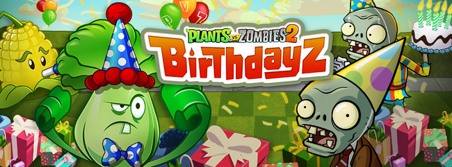 plants vs zombies cumple