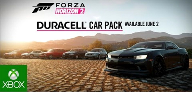 Duracell Car Pack Forza Horizon 2