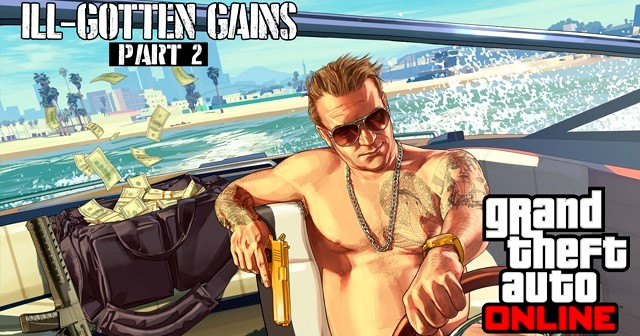GTA V The III Gotten Gains Update Part Two (1)
