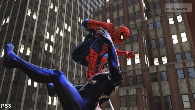Spiderman Web of Shadows