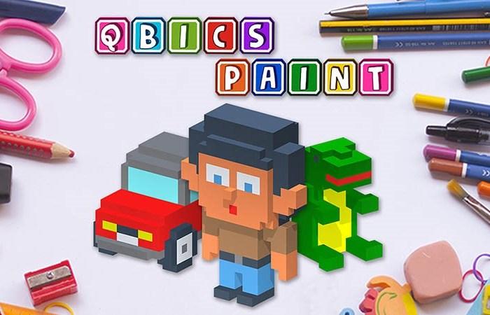 Ponte creativo con el Nintendo Switch  y el nuevo juego Qbics Paint