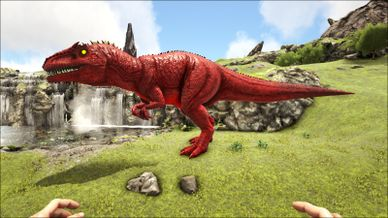 Mod Primal Fear Alpha Giganotosaurus Official Ark
