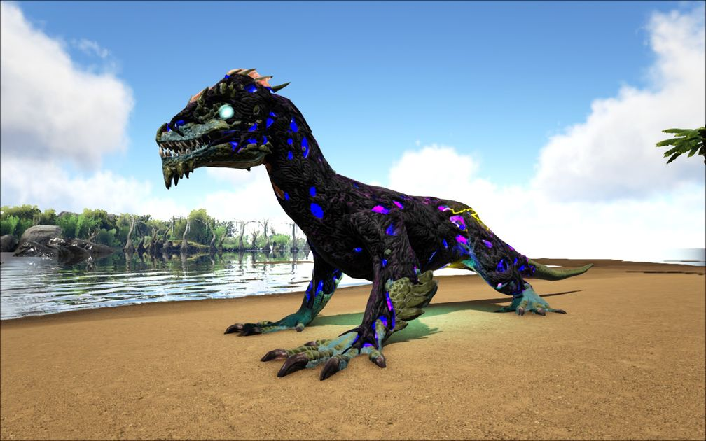 Mod Ark Eternal Elemental Lightning Corrupted Rock Drake