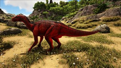 Mod Primal Fear Alpha Iguanodon Official Ark Survival