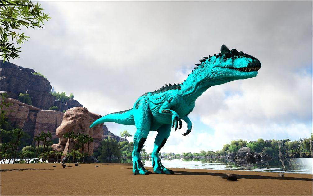 Prime Allosaurus Official Ark Survival Evolved Wiki