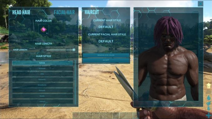 hairstyles - official ark: survival evolved wiki