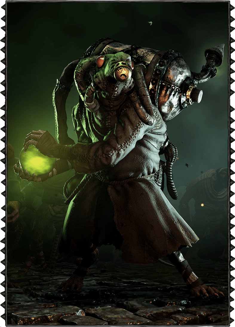 Poison Wind Globadier Official Vermintide Wiki