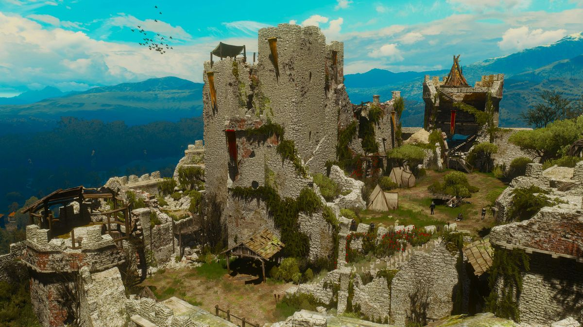 Mont Crane Castle The Official Witcher Wiki