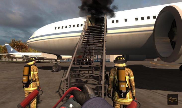 Symulator Straży Pożarnej Lotnisko