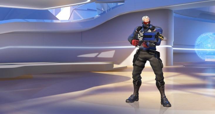 Overwatch Żołnierz 76