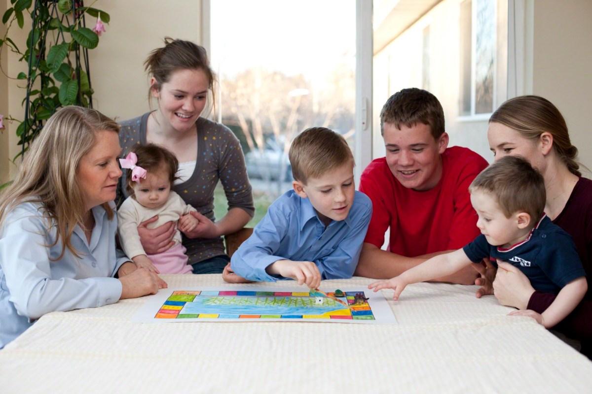 Planszówki familijne