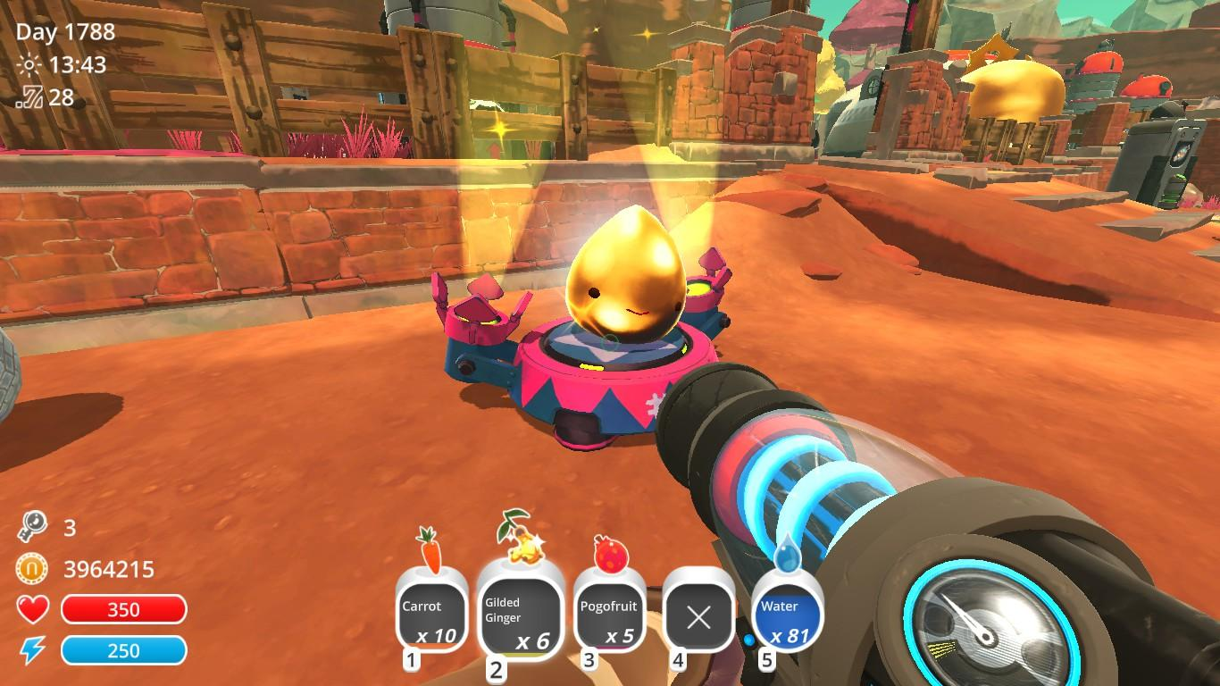 Slime Rancher How To Ranch A Gold Slime