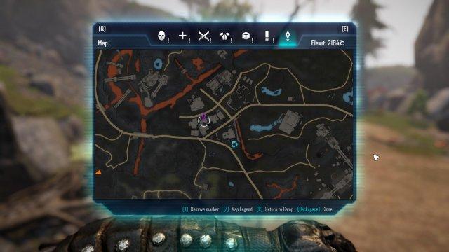 ELEX - Map Pieces Ubicación