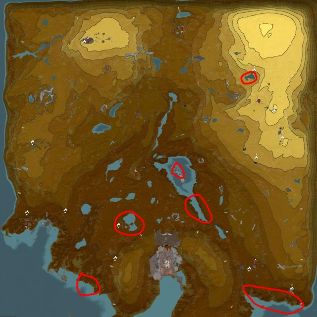 Warframe - Plains Of Eidolon Resource Ubicaciones agrícolas