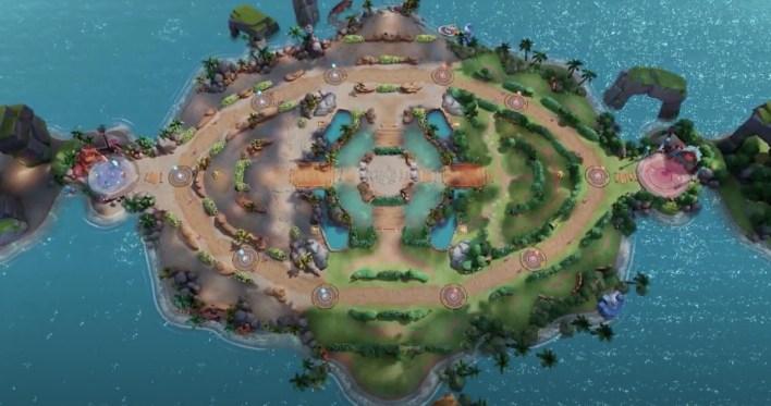 mapa pokémon unite beta