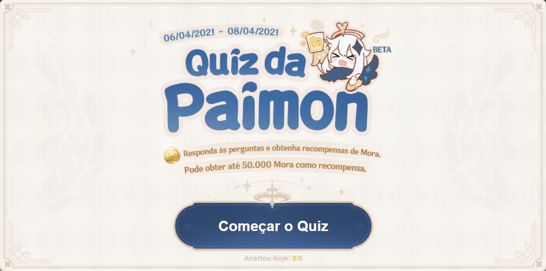 Quiz da Paimon