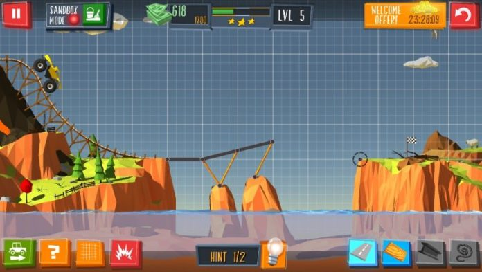 Link Bridge Building Game Walkthrough