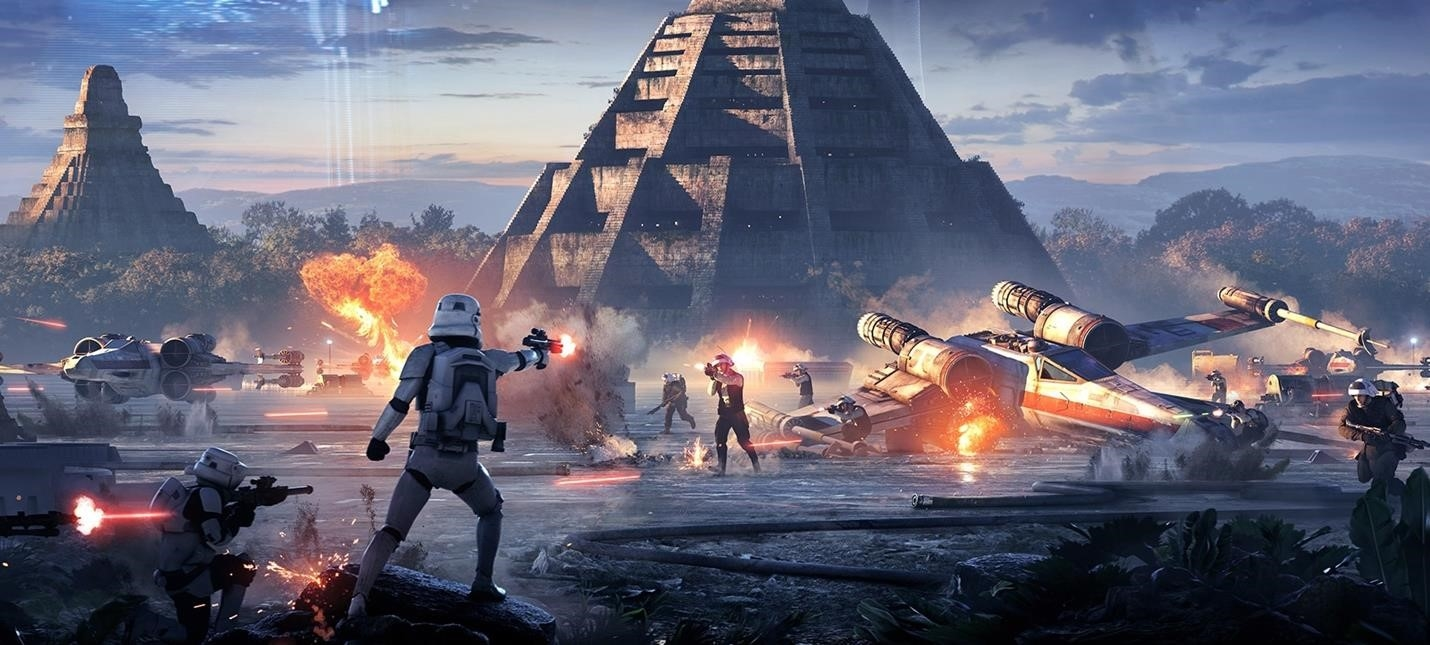 During Yesterdays EA Play Showed About Half An Hour Multiplayer Battles On Naboo In Star Wars Battlefront II Unfortunately A Video There So You Have To