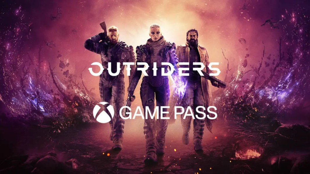 Outriders no Xbox Game Pass