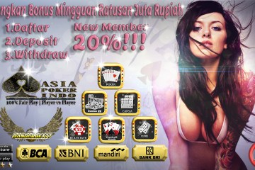 Situs Game Kartu Poker Dengan Uang Asli Indonesia