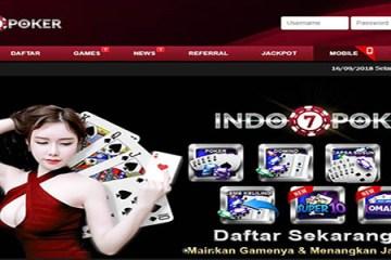 Indo7Poker | Poker Online Terpercaya Indonesia | Daftar Poker IDN Indo Domino
