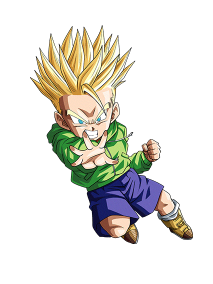 Sr Talent From Dad Super Saiyan Trunks Kid Agl Dbz Dokkan Battle Gamepress