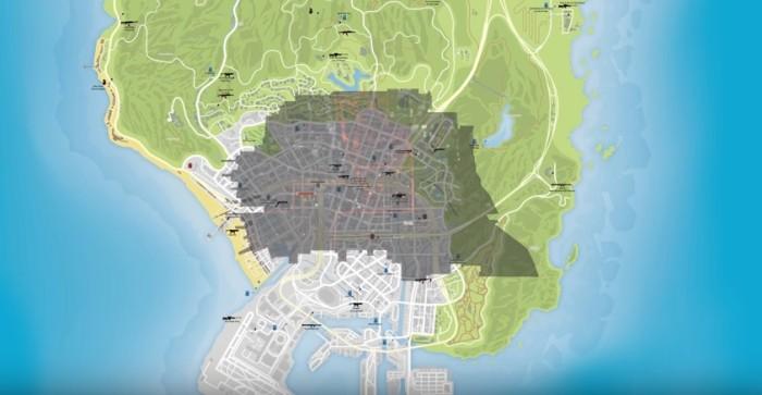 The Division Vs GTA V Vs Fallout 4 A Map Size Comparison