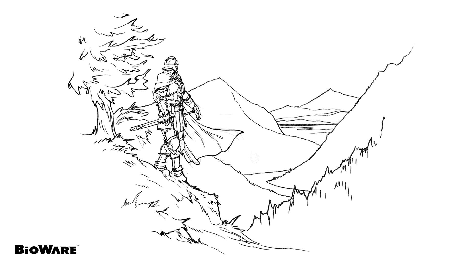 BioWare Teases Dragon Age Coloring Book