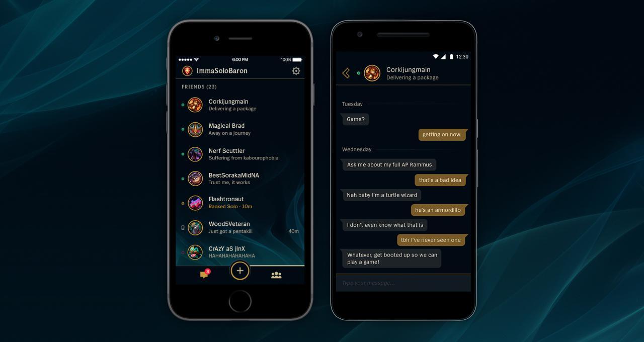 Riot Games Launches League Friends App