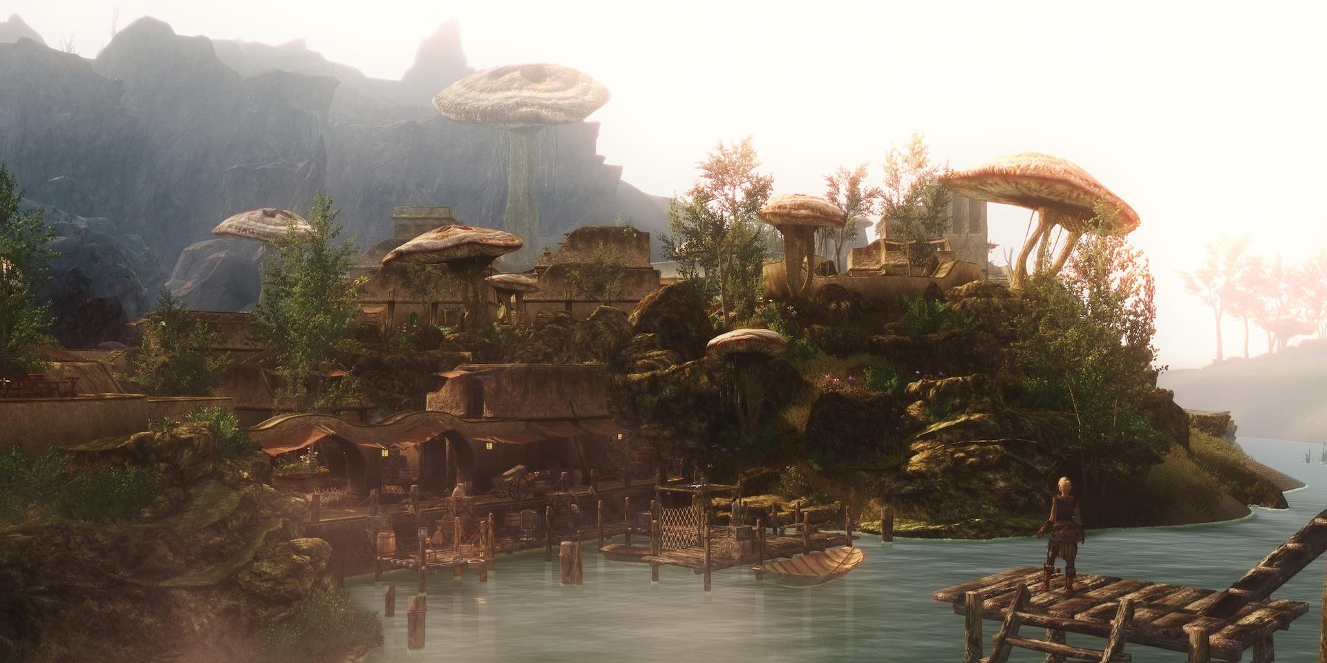 Skywind The Breathtaking Skyrim Mod Gets A February Update Gameranx