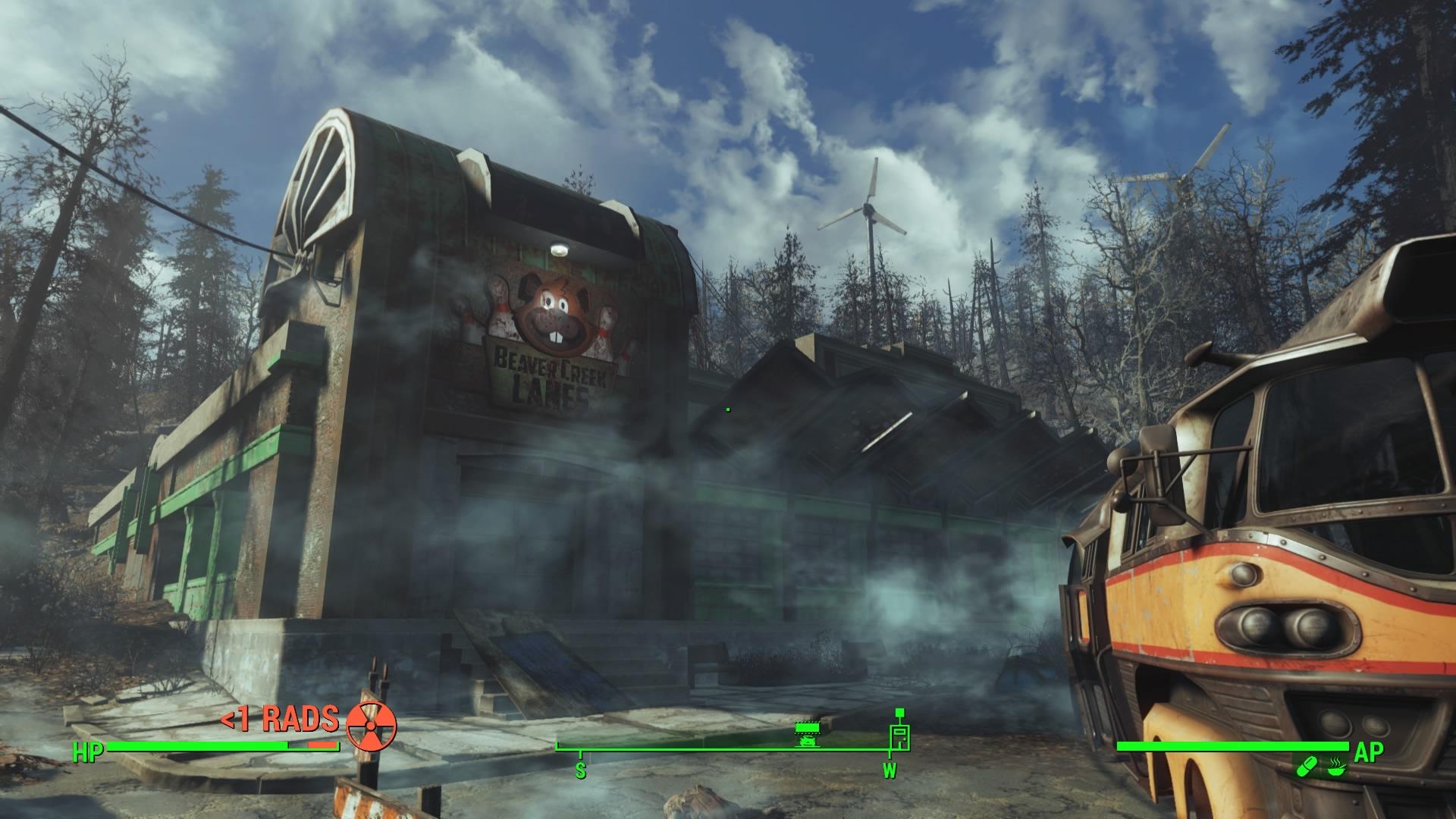 Fallout 4 Far Harbor Bowling Ball Launcher Location