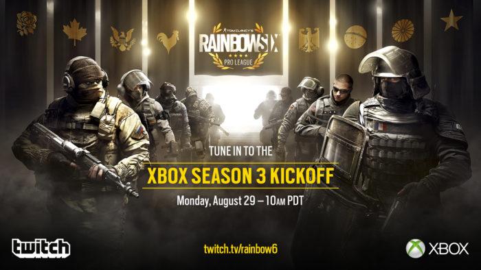 Tom Clancys Rainbow Six Siege Pro League Season 3 Begins Today For Xbox One Gameranx