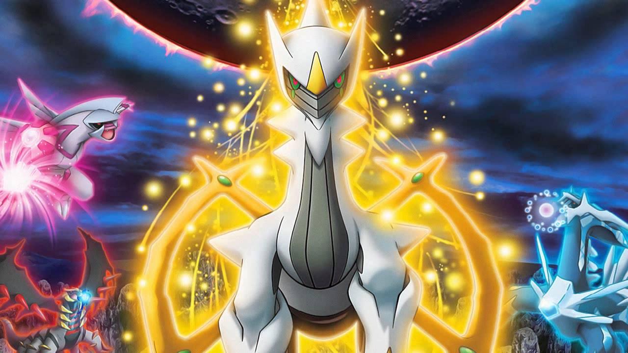 Get The Latest Free Mythical Pokemon Arceus Today