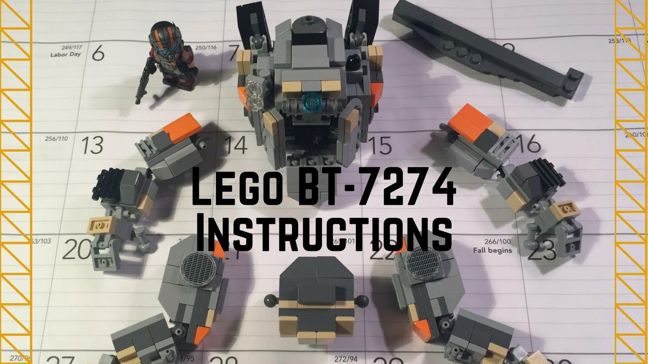 Titanfall 2 has Lego'ed up
