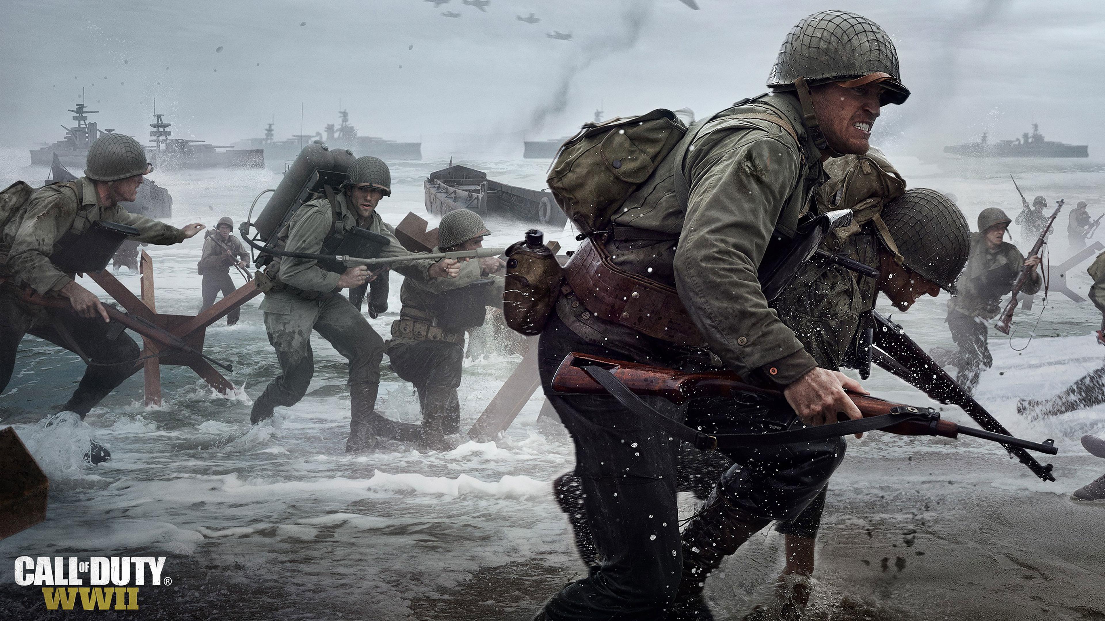 CALL OF DUTY WWII Wallpapers In Ultra HD 4K Gameranx