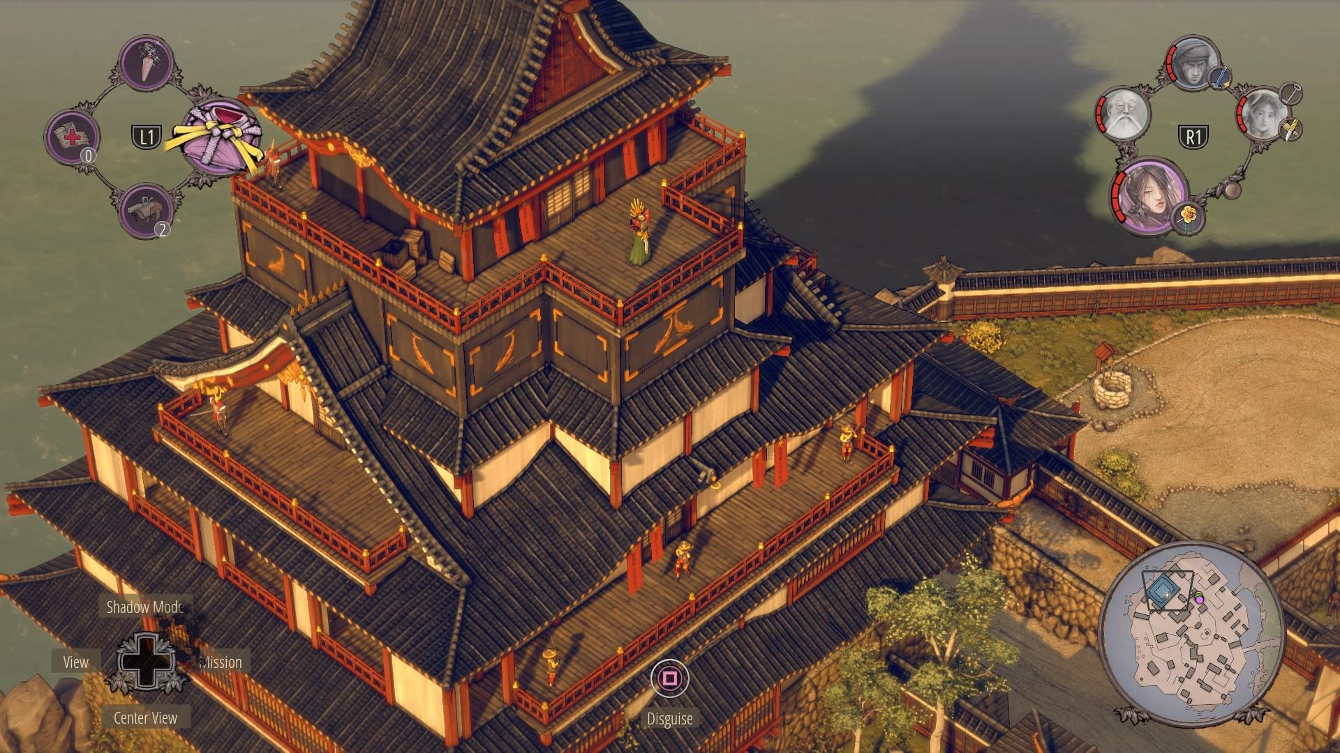 Shadow Tactics Walkthrough Mission 13 Sunpu Castle Gameranx