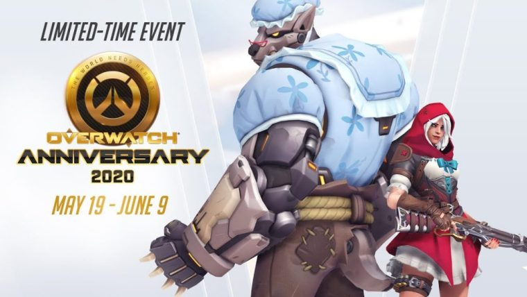 Celebrate Overwatch's Four Year Anniversary With a New Limited ...