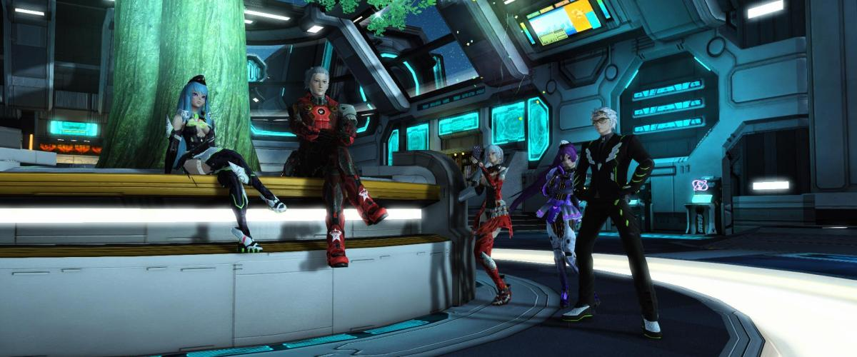 PSO 2 launches on Xbox, PC version coming in May exclusively on Microsoft Store