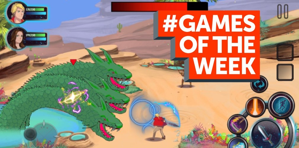 GAMES OF THE WEEK - The 5 best new mobile games for iOS and Android - April 30th