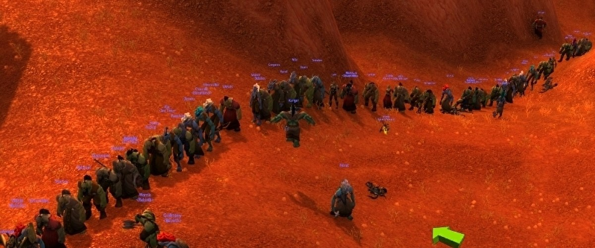 Thousands of World of Warcraft Classic players descended upon a single server to get a fresh levelling experience