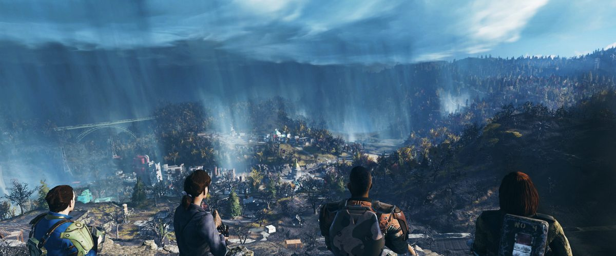 Fallout 76 roadmap includes the Brotherhood of Steel and aliens