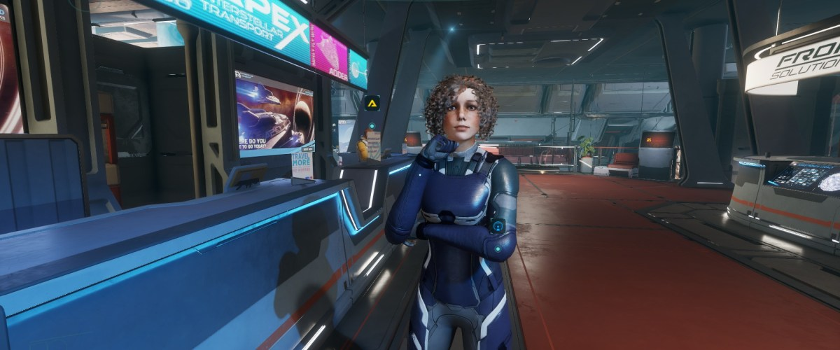Odyssey alpha impressions -- Lost in space