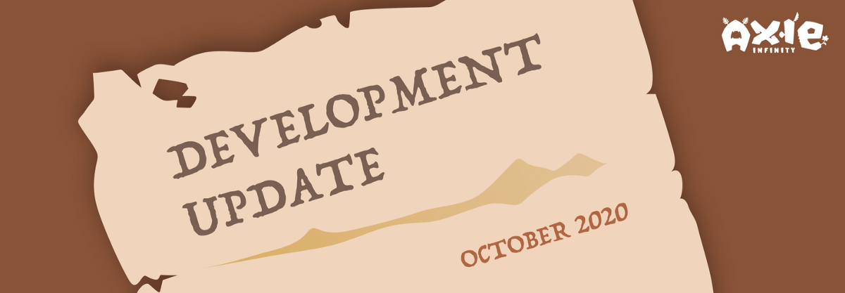 October Development Update!. What a month October was! We hit new…   by Axie Infinity
