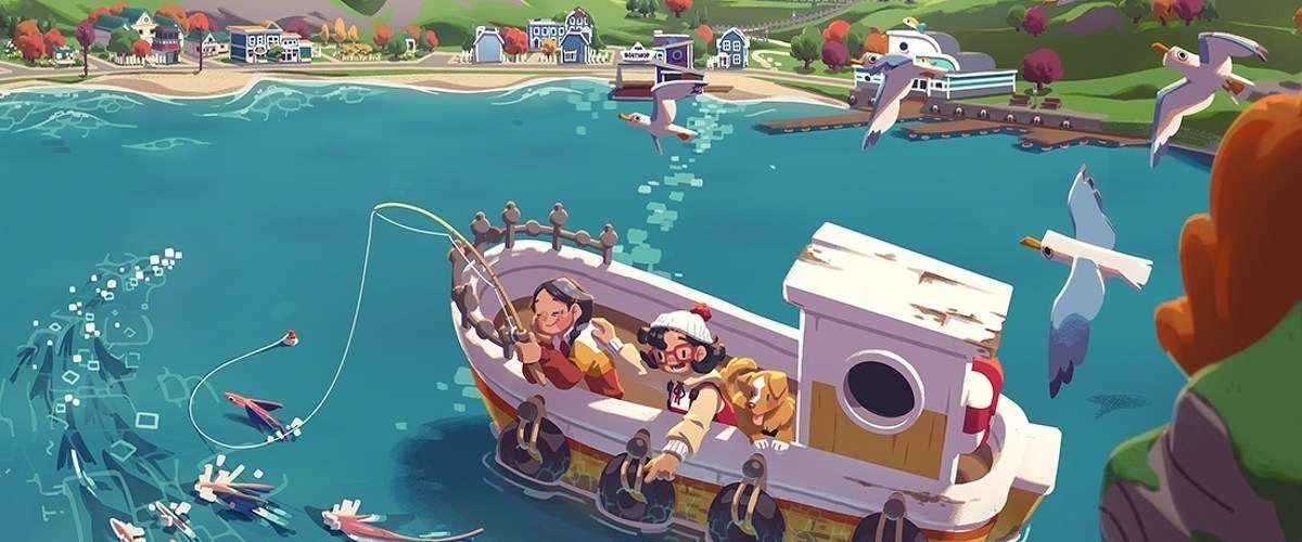 Relaxing slice-of-life fishing adventure Moonglow Bay out in October on Xbox and PC • Eurogamer.net
