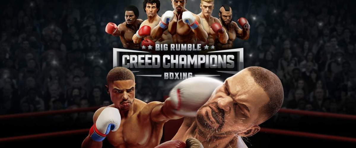Video For Become a Boxing Legend Today in Big Rumble Boxing: Creed Champions