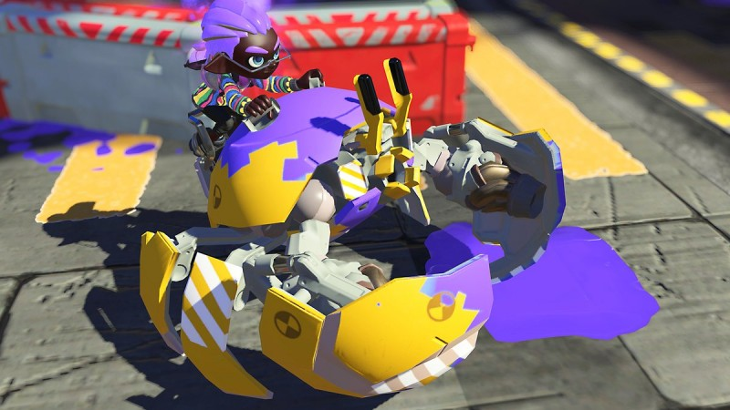 Fight As Crab Tanks And Ink Ninjas With These New Splatoon 3 Special Weapons