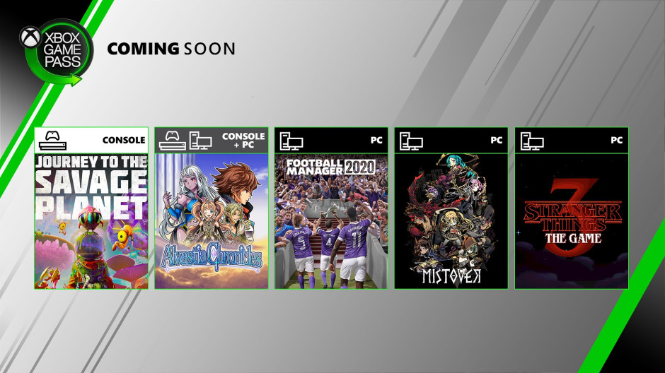 Xbox Game Pass - Coming Soon - April 2020